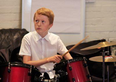 B Sharp Boombox Drummer