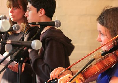 Singing and Violin