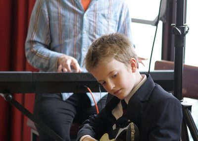 Guitar and Piano Student and Teacher