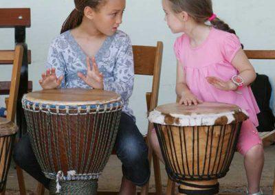 Drumming Conversation