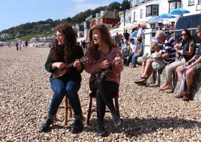 Duet on the beach