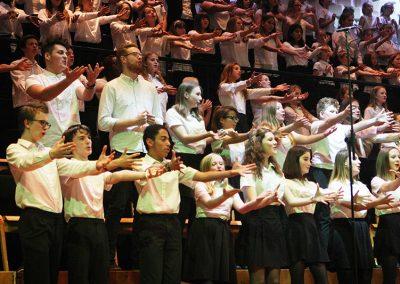 Choir all together