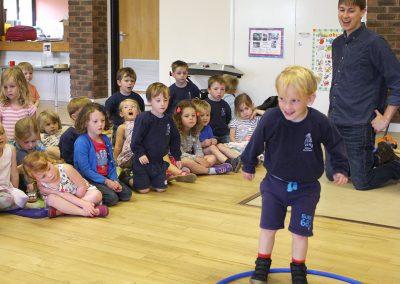 In the hoop Early Years