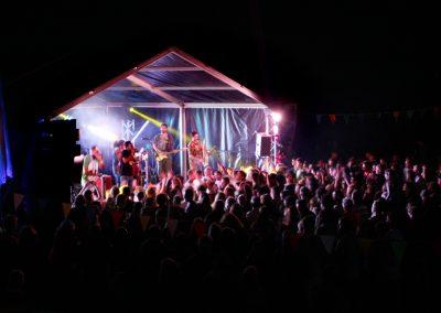 Big Mix Stage at Night