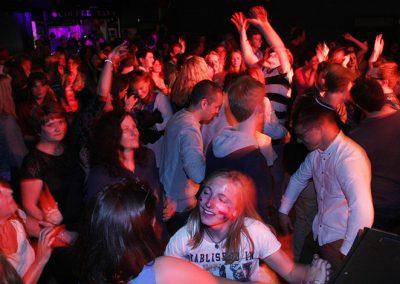 Audience dancing Big Mix