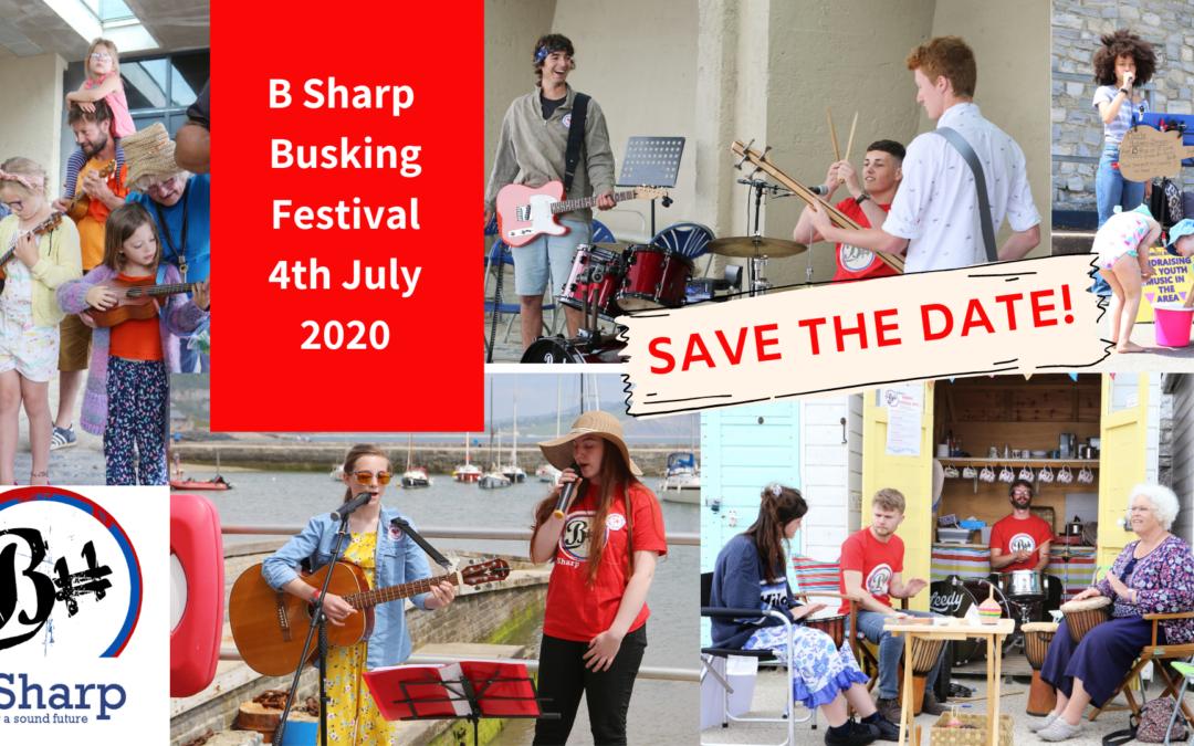 B Sharp's Busking Festival 2020