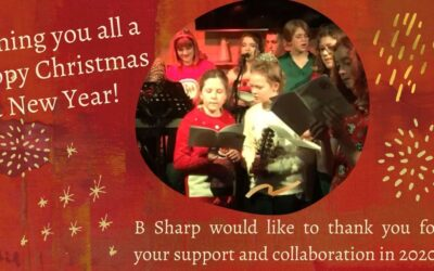Happy Christmas from B Sharp!